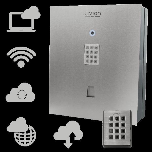 LivionKey-30 Kombi mit LivionKeypad mit Cloud-Lizenz