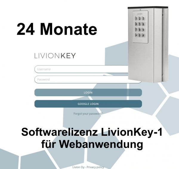 LivionKey 1 - Lizenzkosten 24 Monate Verlängerung