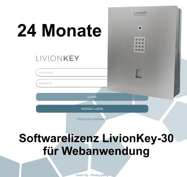 LivionKey 30 - Lizenzkosten 24 Monate Verlängerung